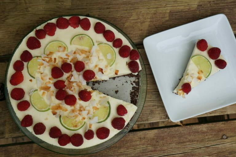 Recipe: Chocolate Key Lime Mousse Pie