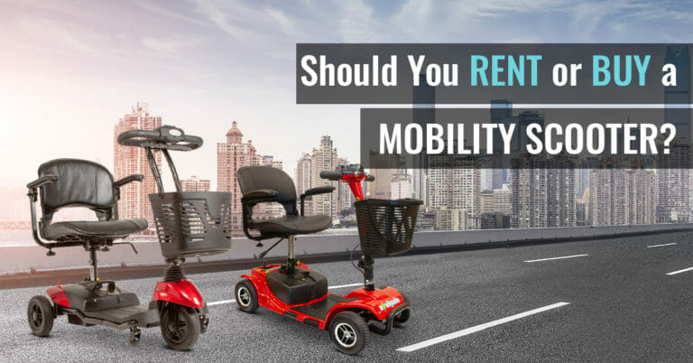 Rent a Mobility Scooter