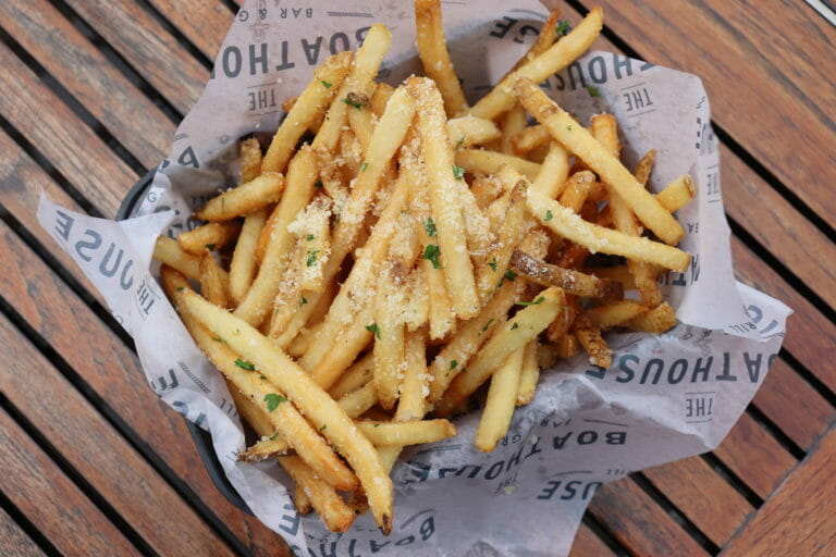 Truffle Fries from The Boathouse