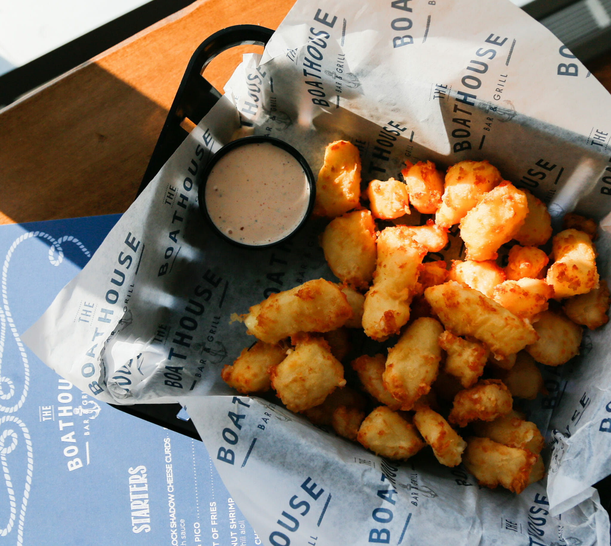 Cheese Curds at The Boathouse